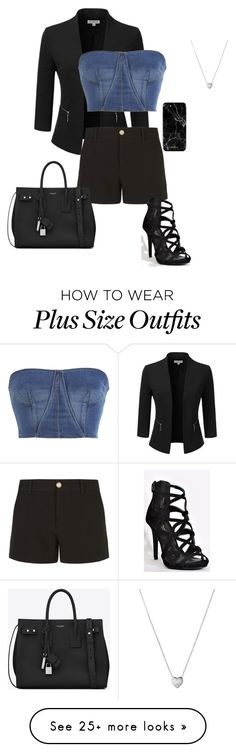 """""""Shorts"""" by gone-girl on Polyvore featuring Doublju, Jonathan Simkhai, Gucci, Links of London and Yves Saint Laurent"""
