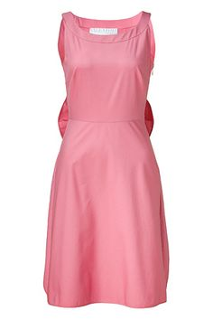 Front view: Pretty Pink Bow Embellished Dress by VALENTINO
