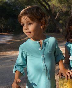 Camisa niño verde Ancar