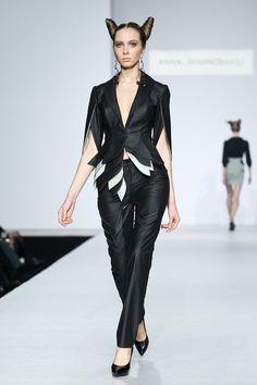 anna miminoshvili Leather Pants, Hair Makeup, Anna, Jumpsuit, Thoughts, Feelings, Inspiration, Dresses, Fashion