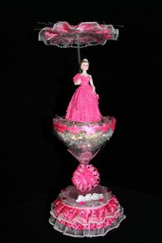 Sweet 15 quinceanera Party Favor Ceramic by SaiedaPartyFavors