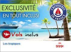 Croisière pas cher Abcroisière promo Croisière Tropicale - 9 jours, au départ de Saint Domingue prix promo AB Croisière 999.00 € TTC au lieu de 2 285 € TTC