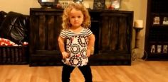 "Angela Thurber posted this video on Youtube and gone viral, with more than 1,5 mil views. This is 5-year-old Rilee and she has Achondroplasia. Achondroplasia is a form of short-limbed dwarfism. It is the most common form of short-limbed dwarfism and effects 1 in 15,000 to 40,000 newborns. The effects of it are visual and result in a shorter stature because of their shortened limbs, but there are no mental differences known to occur. When she hears Taylor Swift's ""Shake It Off"" she gets up…"