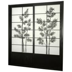 Have to have it. Oriental Furniture Bamboo Tree Shoji Sliding Door Kit $685.00