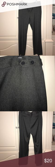 """Ladies dress slacks These pants have a shiny sheen to them in a dark grey/black color. Inseam measures at 30"""". Excellent condition! Perfect dress pants!!! chaus Pants"""