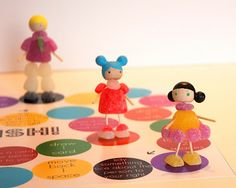 Gumdrop people // I think we need a game night just so we can make these!
