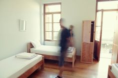 When in doubt, simplify.      City Circus Hostel in Athens, Greece | Yatzer