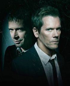 james purefoy kevin bacon: The Following.....I love this show!