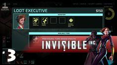 Invisible Inc   #3   Corporate Data