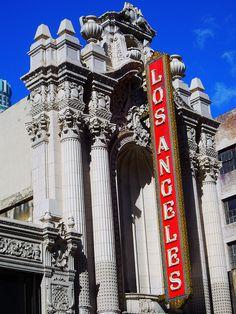 Los Angeles Theater, L. Beverly Hills, Alaska, Las Vegas, Ville New York, Cities, Los Angeles Hollywood, Santa Ana, California Dreamin', Vintage California