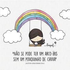 Amor de arco-íris é amor de chuva