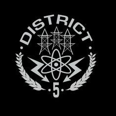 Camiseta The Hunger Games (Los juegos del hambre). Distrito 5
