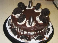 Oreo cake. Looks SO good