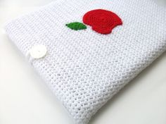 Crochet Ipad Case, don't have an Ipad but I'm sure it wouldn't be too difficult to adjust for a kindle