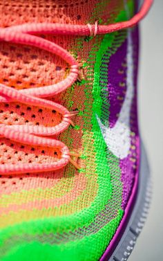 Nike Free Fly Knit....got these for my daughter and she told she me felt like she was bouncing when she ran in them.  I think I want a pair for myself! #worthatry?
