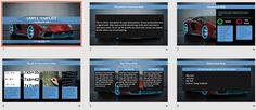 Car Simple Kids PowerPoint by SageFox