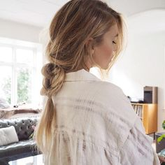 Cute loose braid for everyday ⭐️