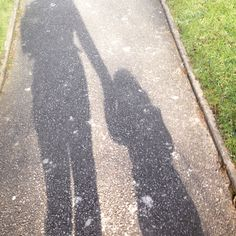 Whoops.....I seem to have failed to continue with my 30 day photograph challenge - got to day 14 then....nothing...until now! Back on to if now - Day 15 #30dayphotographchallenge 'silhouette' my little princess & me...walking in the winter sunshine #sunshine #dontgiveup #backonit xxxxx