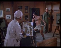 #mash #M*A*S*H #4077  Klinger and Colonial potter!!  wouldn't be cool to own a picture from the show!