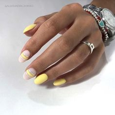 """Nails_all on Instagram: """"Yellow addition 💛🌟💛 Do you like yellow designs? I think they are pure sunshine and positive 🌟🥰🌟 #nailpictures #nails #nailartists #nailart…"""" Yellow Nails Design, Yellow Nail Art, Instagram Mode, Instagram Nails, Perfect Nails, Almond Nails, Matte Nails, Nail Polish Colors, Nail Manicure"""