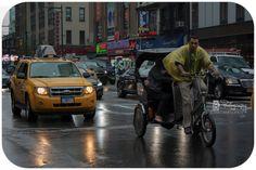 #taxi #nyc #rain