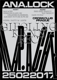 Jiri Mocek / Graphic / Techno / Black / Prague