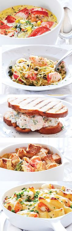 5 Lobster Dishes to make this Summer! The recipes are easier than you might think! via Sweet Paul Magazine