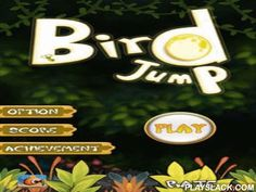 Bird Jump  Android Game - playslack.com , Bird Jump - is a very humorous game akin to drawing Jump loved by many. an atomic child bird cut  out of a nest. He isn't able to fly yet, but he is perfectly able to jump.  aid the juvenile to return to his nest. You should get high and high, leaping  on different platforms. a part of these platforms will be mobile, a part from them will illness after the first jump, and some of them at all will be pseudo-platforms, the jump on which will cause a…