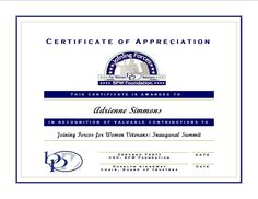 The Sojourn Of My Life Example Of Certificate Of Appreciation For