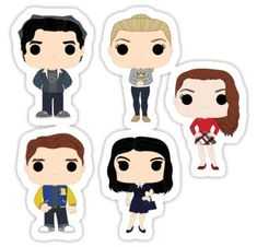 Riverdale stickers featuring millions of original designs created by independent artists. Preppy Stickers, Tumblr Stickers, Riverdale Cast, Aesthetic Stickers, Doodles, Laptop Stickers, Vinyl Decals, Vsco, Creations