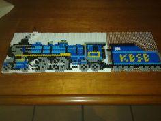 Train perler beads by Henrik E. - Perler® | Gallery