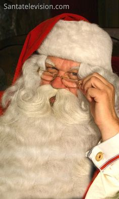 Weihnachtsmann in Lappland (Finnland)