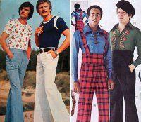 Moda maschile, le pubblicità più ridicole degli anni '70