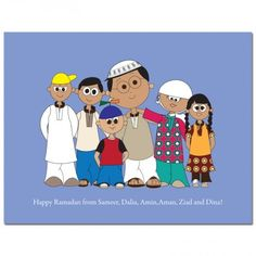 Eid cards from Family of 6 wishing you all Eid Mubarak. Eid Mubarak Greeting Cards, Eid Cards, Ramadan Greetings, Eid Mubarak Greetings, Family Of 6, Three Boys, First Girl, Couples, Fun
