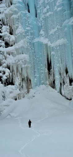Frozen Waterfall, Sweden