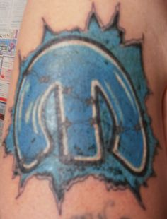 Mick's Mopar tattoo