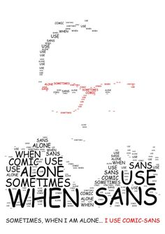 Sometimes, when i am alone, i use comic sans by marcelvelky on DeviantArt I Am Alone, Comic Sans, Deviantart, Graphic Design, Math, Comics, Im Alone, Im Lonely, Math Resources