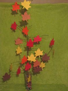 Life is Great in a 31 by 8: Thanksgiving Camping Craft- Thankful Tree