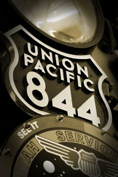 Union Pacific Steam Engine 844 ~Via Justin LaMarca © ™ Union Pacific Train, Union Pacific Railroad, Union Pacific 844, Train Tracks, Train Rides, Cheyenne Wyoming, Rail Transport, Choo Choo Train, Train Pictures