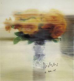Rosen by Gerhard Richter. Limited edition print from Art.com.
