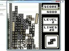 Not Tetris 2 - High Score 58769 (RECORD)