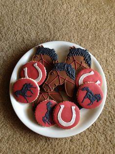 Horse Cookies / One Dozen on Etsy, $35.00