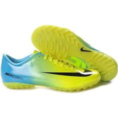 United Cycle Football Cleats Nike Mercurial Victory IV Cr7 Mens Astro Turf  Trainers Futsal Blue Green 8dbe01ea3a85b