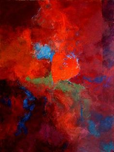 February: Passion by Marianne Hornbuckle   acrylic painting   Ugallery Online Art Gallery