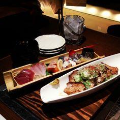 KAGOSHIMA FOODs 黒豚百寛→刺身盛り合わせ、黒豚焼豚★
