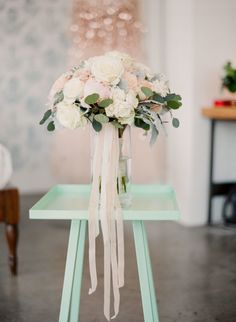 Photography: Clean Plate Pictures - cleanplatepictures.com   Read More on SMP: http://www.stylemepretty.com/2016/02/18/fashion-editors-fabulous-same-sex-brooklyn-wedding-with-a-custom-christian-siriano-gown/