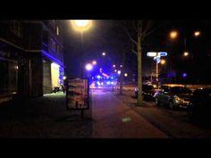Politie en brandweer binnenbrand Galenuslaan Bergen op Zoom