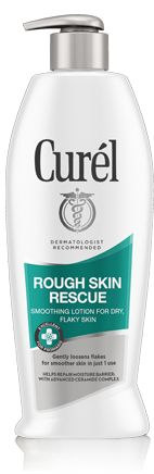 Looking for a rough skin smoothing lotion that will combat horribly dry skin? Try Curel's Rough Skin Rescue smoothing lotion and start moisturizing today.