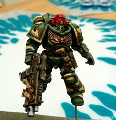 Camouflage, Imperial, Primaris, Space Marines, Warhammer 40,000 - Primaris Test Model - Gallery - DakkaDakka | Instinctive behavior makes you lurk here.