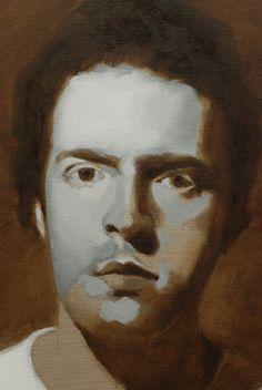 adding a darker value to a portrait part 3